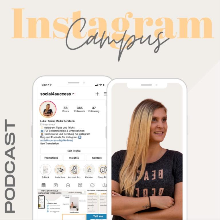 Instagram Campus - für Selbstständige